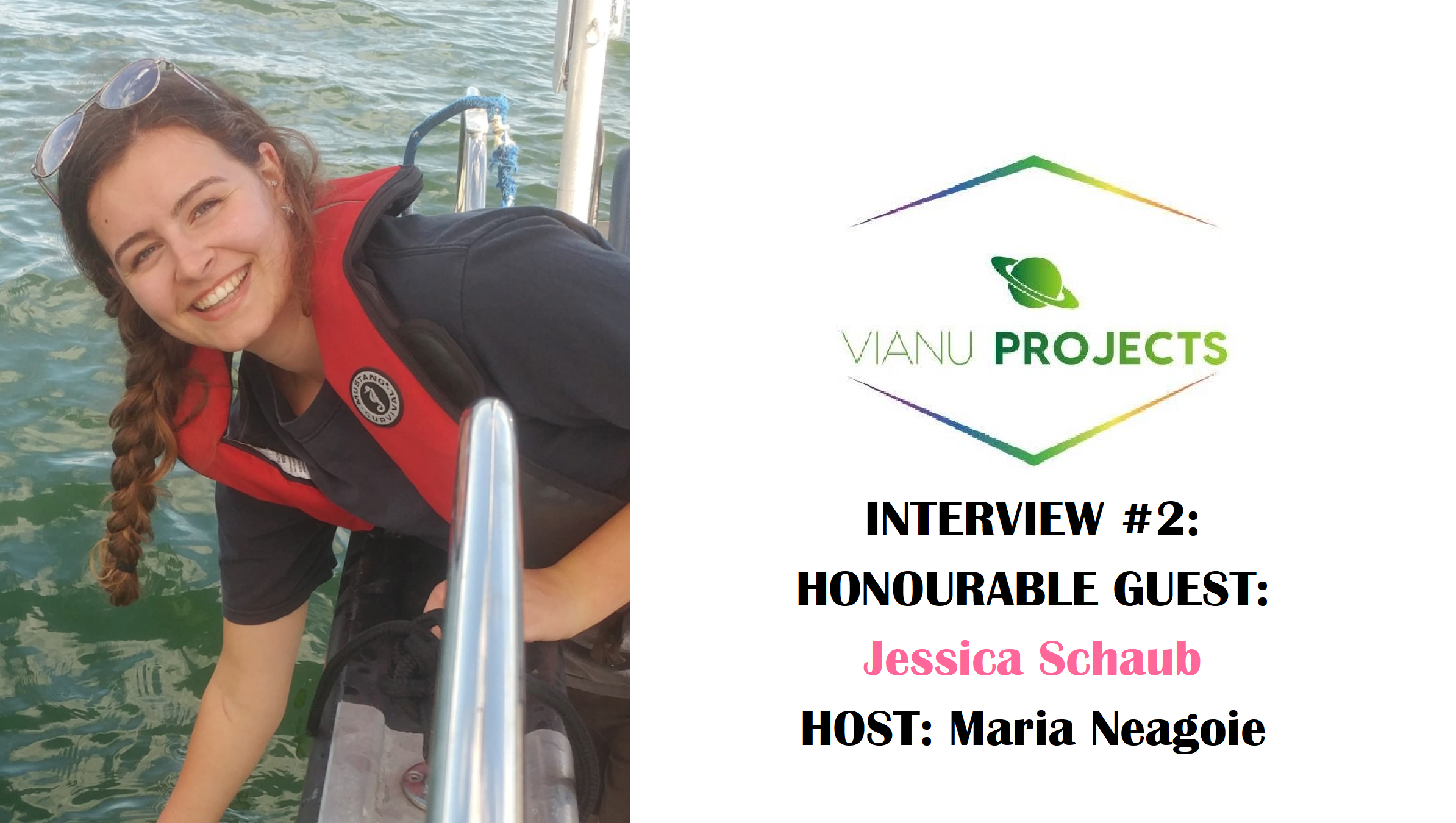 International Day of Women and Girls in Science – Interview with Jessica Schaub, Master of Science Student in Oceanography; by Maria Neagoie 🦑